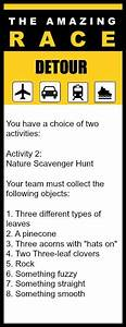 great 11 year old party idea the amazing race birthday With the amazing race clue template