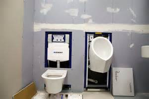 install geberit wall hung toilet wall hung toilet american standard waterless both hung on geberit frames kit fit