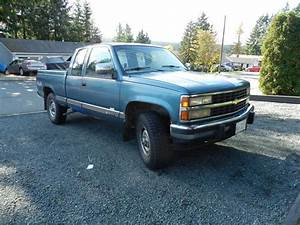 1990 Chevy 2500 Scottsdale 4x4 Truck Longbox Ext Cab