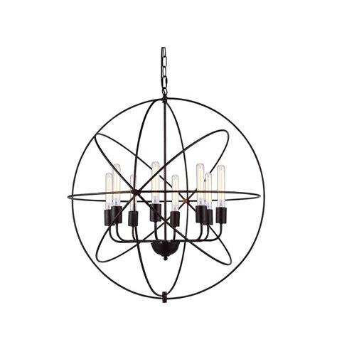 Vienna Chandelier by Lighting Vienna 8 Light Bronze Pendant L