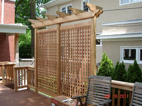 outdoor privacy screens for yards gallery trellis pergolas georgetown decks