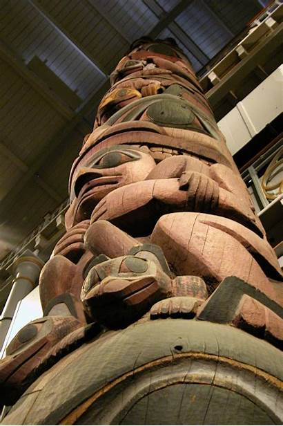 Pitt Rivers Museum Pole Totem Oxford Things