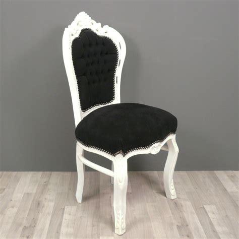 chaises fauteuil chaise baroque et blanche fauteuils baroques