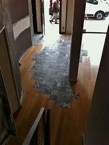 renovation de sols et escalier en carrelage a rennes et en With decoupe parquet