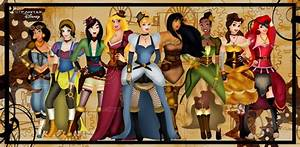 Disney Goes Steampunk: 9 Princesses With Spunky Style ...