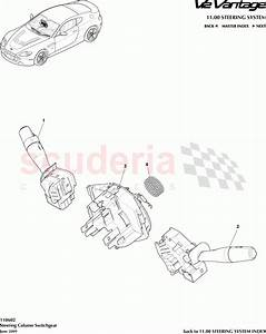 Aston Martin V12 Vantage Steering Column Switchgear Parts