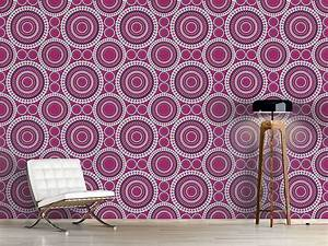 Tapete Mit Kreisen : 83 best designtapeten purple movement images on pinterest ~ Orissabook.com Haus und Dekorationen