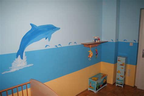Kinderzimmer Gestalten Meer by Delfine F 252 R Die Kinderzimmerwand Gernot Gawlik