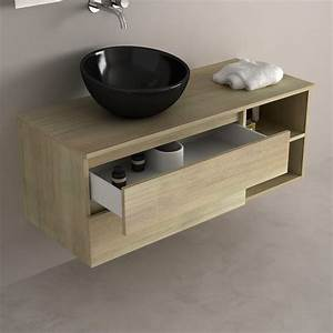 meuble salle de bain simple vasque 120 cm wikiliafr With meuble simple vasque 120 cm