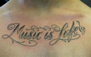Music Is Life Tattoo Designs   www.imgkid.com - The Image ...