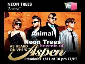 Animal Neon Trees lyrics