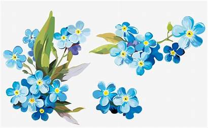 Forget Clip Watercolor Paper Painting Flowers Clipart