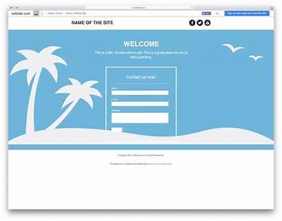 Blank Website Landing Template Templates Classic Colorlib