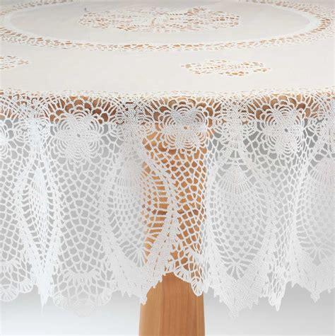 vinyl lace tablecloths vinyl lace tablecloth by miles kimball ebay