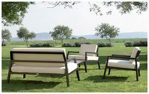 Salon Jardin Bas : salon de jardin en aluminium 4 places piscine center net ~ Teatrodelosmanantiales.com Idées de Décoration