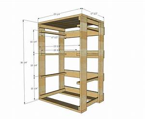 Ana White Build a Pallet Laundry Basket Dresser by