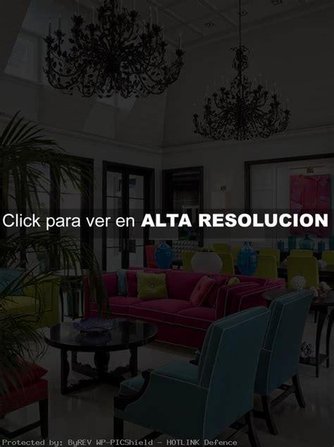 ideas coloridas  decoracion de salas decoracion de