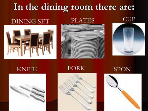 Parts Of Houses And Furniture
