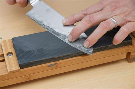 Best Whetstone For Kitchen Knives by Whetstone Sharpening Compared To Honing Steel