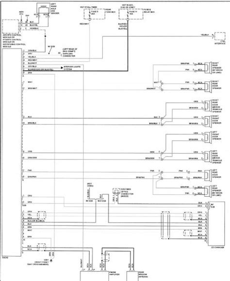 w210 speaker wiring diagram mbworld org