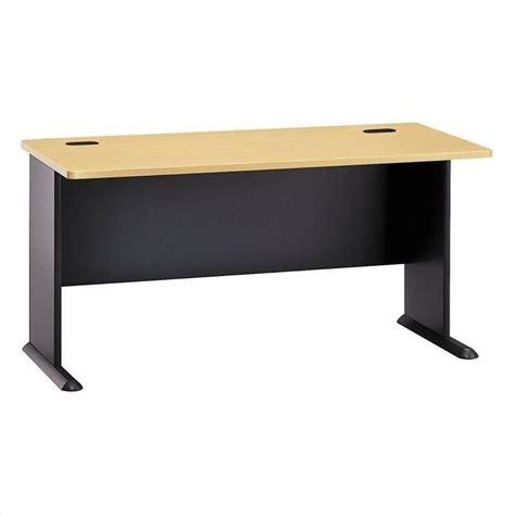 bush series a desk bush bbf series a 60w desk in beech 13718