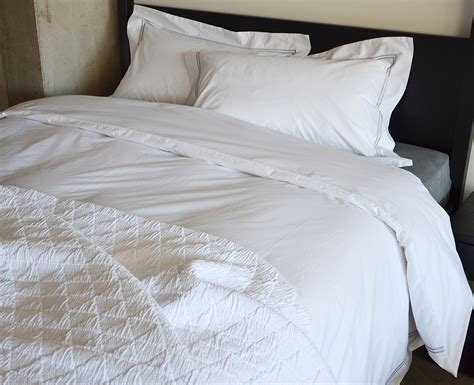 Egyptian Cotton Bed Linen  Hotel Collection  Natural Bed
