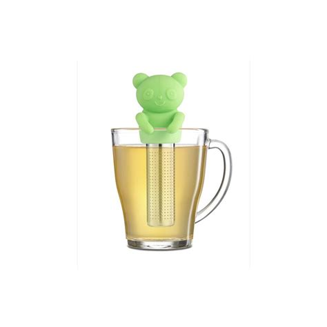 panda tea infuser green  brilliant coffee  tea