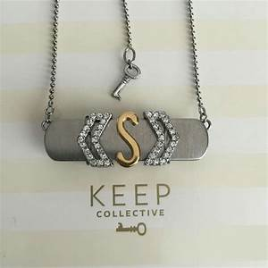 46 best images about keep collective on pinterest chi With make your own letter necklace