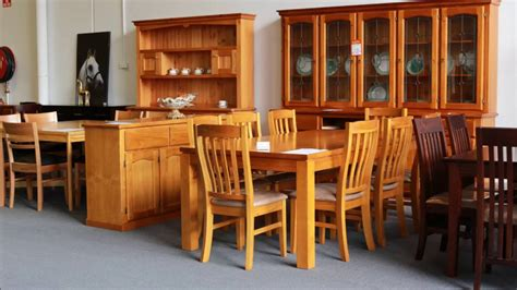custom order solid australian timber dining