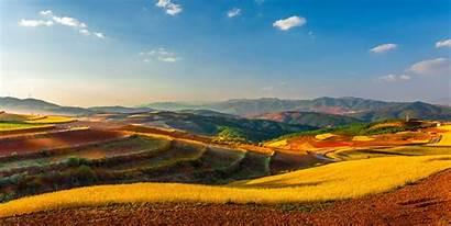 China Landscape Yunnan Field Desktop Wallpapers Backgrounds