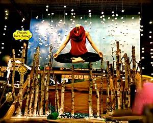 Practice Inner Spring. Spring yoga window display with ...