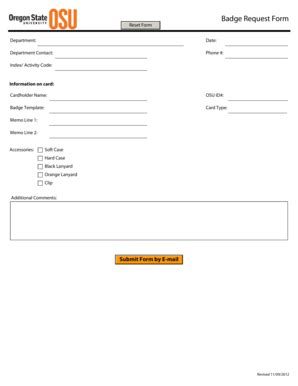 104 printable id badge template forms fillable sles