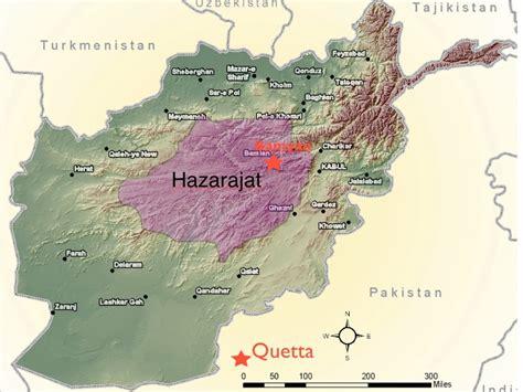 hazara exodus  quetta geocurrents