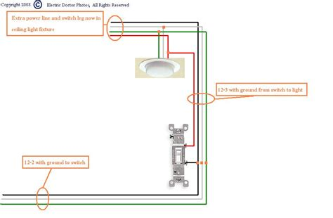 Wiring A Switch Leg by How Do I Go About Wiring A Switch From A Power Source To A