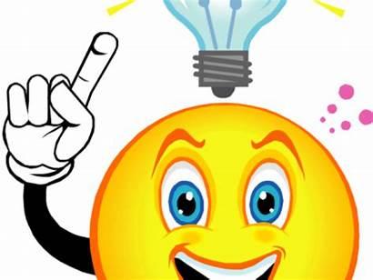 Clipart Thinking Clip Critical Bulb Thought Idea