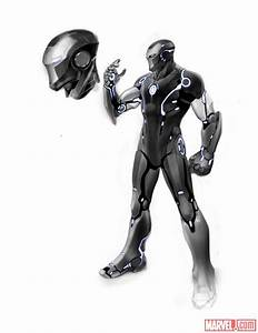 Iron Man Bulks Up And Gets Stealthy In New Armor Designs ...