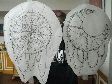 dream catcher  crescent moon themed mandalas tattoos tattoo illustration tattoo sketches