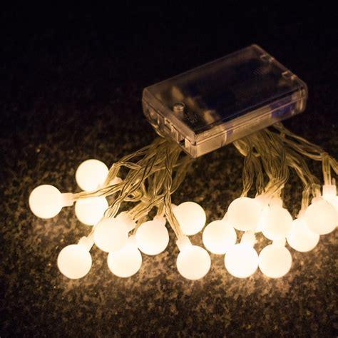 Brillare Round Battery Operated LED String Lights ? KIYOLO