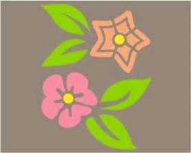 Cute Flower Stencils