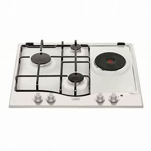 Plaque De Cuisson Ariston : table de cuisson mixte hotpoint pc631whha hotpoint ~ Dailycaller-alerts.com Idées de Décoration