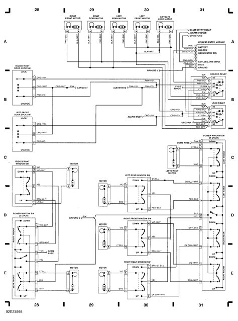 Jeep Cherokee Wiring Diagram Automatic Locks