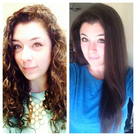I Finally Figured Out How To Straighten My Naturally Curly