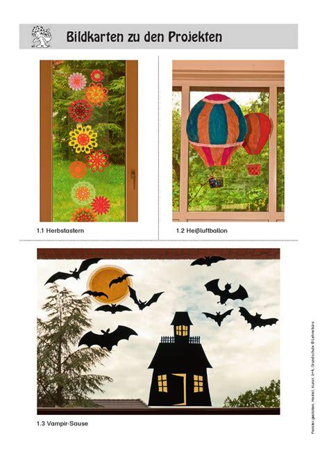 Herbst Fenster Gestalten by Herbst Arbeitsbl 228 Tter 183 Lehrerb 252 Ro