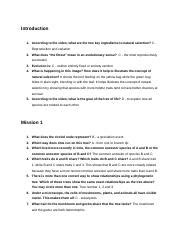 Natural selection is a central concept of evolution, sometimes called the survival of the fittest. NOVA_evolution_lab_worksheet - Introduction 1 According to the video what are the two key ...