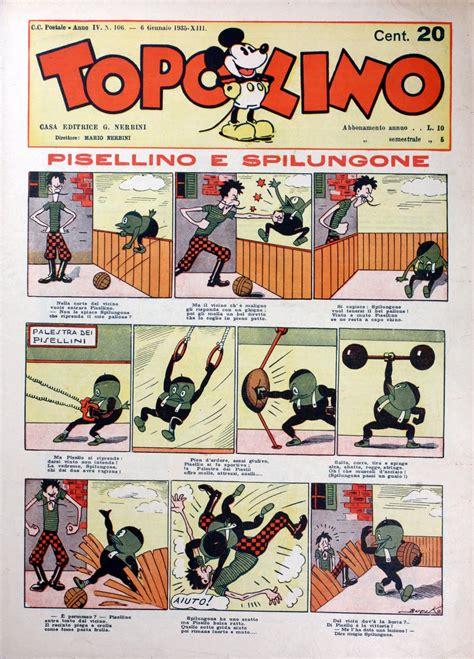 Muscolo Rosso Testo by Fumetti Classici Topolino Undicesima Parte Arriva Paperino