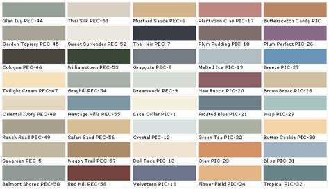 high quality behr paint color chart  behr paint color chart laurensthoughtscom