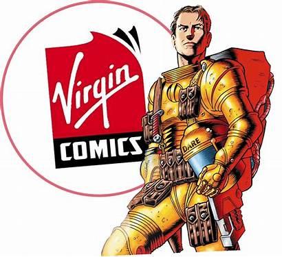 Virgin Comics Comic Dare Dan Eagle
