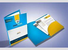 Corporate Presentation Folder Design ~ Stationery