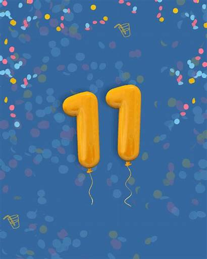 Numbers Birthday 11th Envato August Celebrating Re