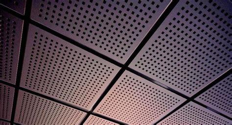 pannelli controsoffitto cartongesso pannelli per controsoffitto acustico in cartongesso tile 8